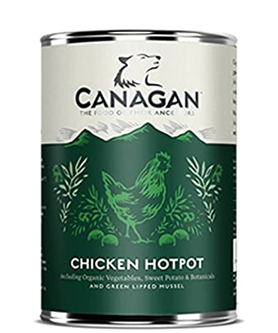 GRAIN FREE CHICKEN HOTPOT With Organic Vegetables FOR ADULT DOGS