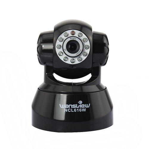 Sidiou Group Network Pan & Tilt IP-Sicherheits-Spion Video-Überwachungskamera Wireless Monitor HD 720p Nachtsicht-Kamera-Unterstützung 64G TF-Karte
