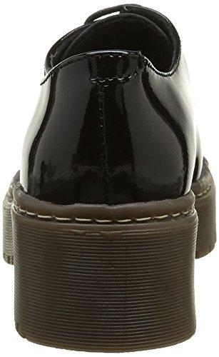 Shoe Biz Damen Barea Oxford Schwarz (Hologram Black)