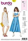 Burda Schnittmuster 6311, Kleid [Damen, Gr. 32-44] zum selber nähen, ideal für Anfänger [L2]