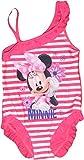 Disney Minnie Ragazze Swimming Costume (6/7 Anni, Rosa)
