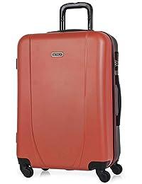 ITACA - Maletas de Viaje Rígidas 4 Ruedas Trolley ABS. Resistentes y Ligeras. Mango