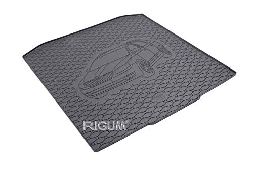 RIGUM Passgenaue Kofferraumwanne geeignet für Skoda Octavia III Kombi ab 2013 passen ideal