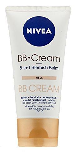 Nivea BB Cream, 5 in 1 Blemish Balm Hell, 50 ml