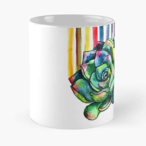 Micklyn Watercolor Watercolour Pencil - Best Gift Coffee Mugs 11 Oz
