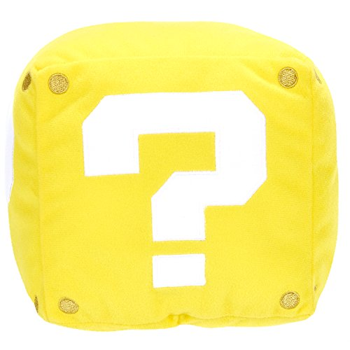 - Peluche - 599386031 - Peluche mario bros cubo amarillo (13cm)