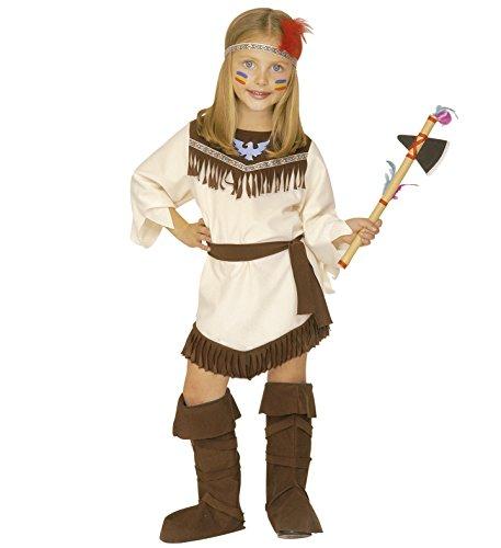Indianerin Deluxe Mädchen Kostüm Kinderkostüm Apache Schoschonin 110