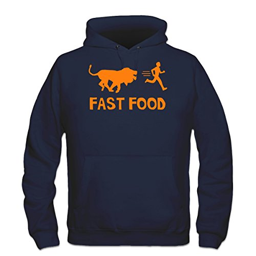 sudadera-con-capucha-fast-food-lion-human-by-shirtcity