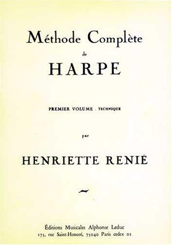 METHODE DE HARPE VOLUME 1 VERSION FRANCAISE par RENIE