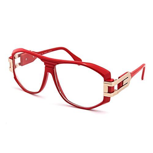 Kiss Brillen in neutralen OLD SCHOOL mod. SPECIAL - optischen rahmen HIP-HOP mann frau VINTAGE - ROT