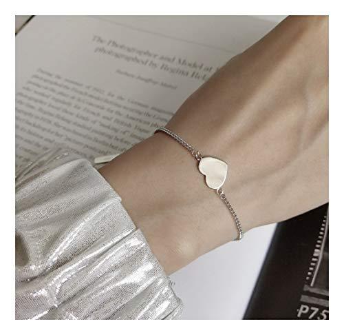 YIYIYYA Damen Armbänder Silber Einfache Pflege Styling Retro Mädchen Hochzeit Schmuck Damen Schmuck Student Geschenke