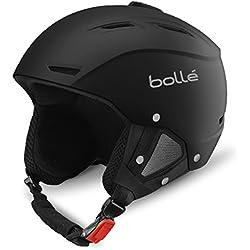 Bollé Helmet Backline Soft - Casco de esquí, color negro, talla 59-61 cm