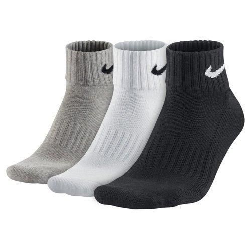 Nike One Quarter Socks 3PPK Value Mehrfarbig