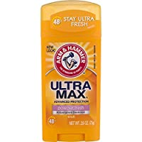 Arm & Hammer Ultramax Invisible Solid Powder Fresh Antiperspirant & Deodorant-2.6 oz