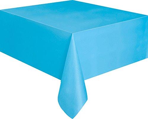 Kunststoff-Tischdecke, ca. 2,7m x 1,4m., babyblau, - Kunststoff-tischdecke Tisch Für Blaue