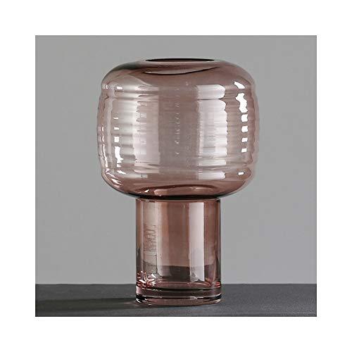 Vase Design: Wasserturm mit Vogelsilhouetten