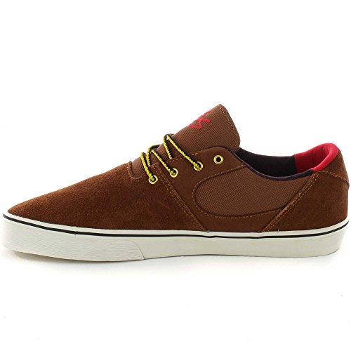ES, Scarpe da Skateboard uomo marrone Brown Tan Brown Tan