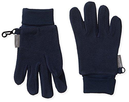 Sterntaler Fingerhandschuhe für Kinder, Alter: 5-6 Jahre, Größe: 4, Marineblau