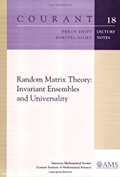 Random Matrix Theory: Invariant Ensembles and Universality (Courant Lecture Notes)