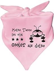 Baby Halstuch Meine Tante ist viel cooler als deine / in 8 Farben