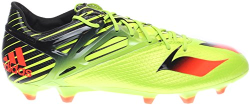 Adidas Crampons 6.5 - Messi 15,1 Fg / ag, Slime / rouge / noir Solar slime