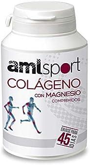 AMLsport - Colágeno con magnesio – 270 comprimidos articulaciones fuertes. Regenerador de tejidos con colágeno