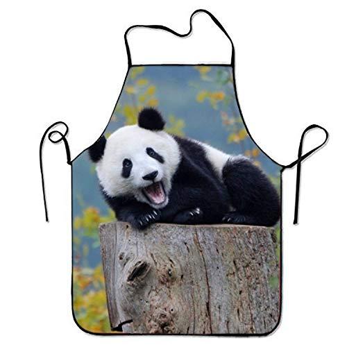 Gorgeous practical goods Superbe Tablier de Cuisine Pratique pour bébé Panda - pour Femme - Art - Robe - Tablier de Cuisine - pour Barbecue