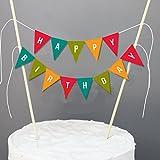 Decoración para tarta de cumpleaños Veewon