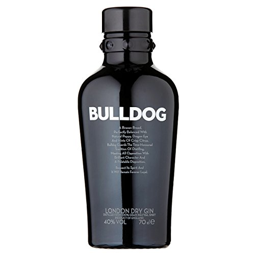 Bulldog London Dry Gin 70cl (paquete de 6 x 70 cl)