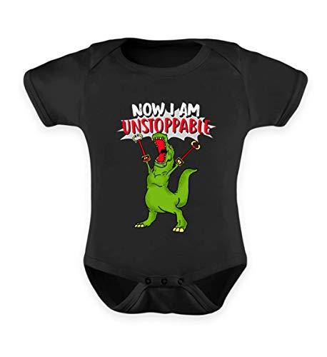 Lustig T-Rex Dinosaurier Shirt Kostüm Spielzeug Toys Kinder Set Spiel Kuscheltier Geschenk - Baby Body