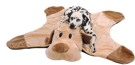 Knuffelwuff Hundedecke in Hundeform