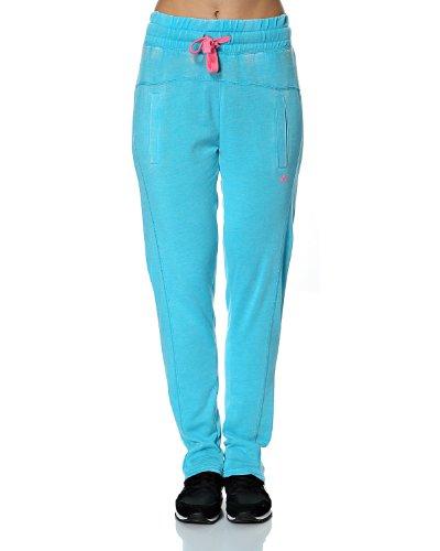 Abbigliamento Donna Brushed Play Pantaloni Only Celeste