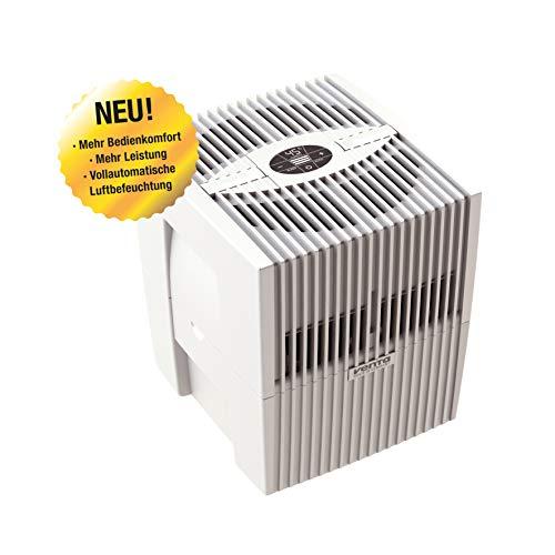 Venta Luftwäscher LW15 COMFORTPlus Luftbefeuchter und Luftreiniger für Räume bis 35 qm, brillant weiss, mit digitaler Steuerung