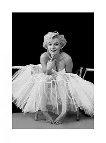 1art1 41219 Marilyn Monroe - Ballerina Poster Kunstdruck 80 x 60 cm