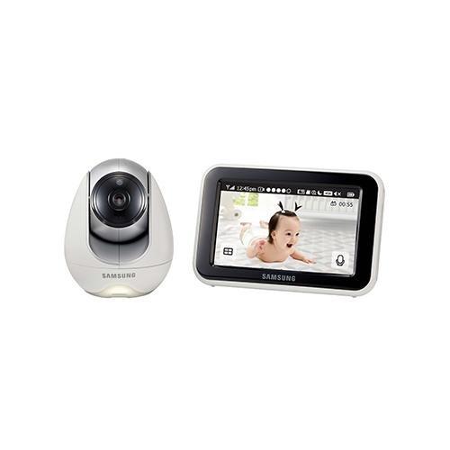 Samsung Sew 3053W-Sistema de vigilancia de bebés, color blanco