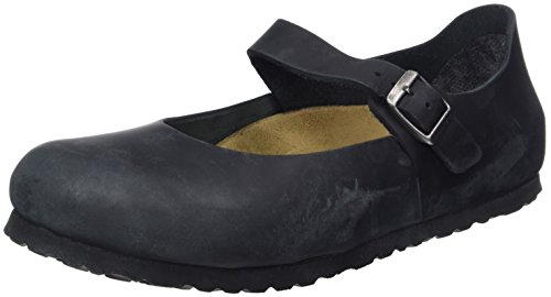 BIRKENSTOCK Shoes Damen Mantova Mary Jane Halbschuhe, Schwarz (Schwarz), 39 EU (Jane-comfort-clogs Mary)