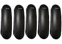 Beetel B25 Combo Kit-5 Black Corded tone/pulse switchable Landline Phone