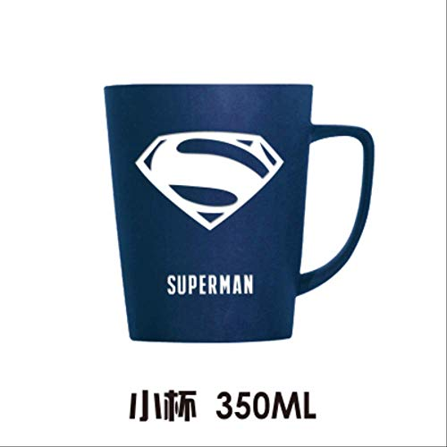 JU DA Tasse 1 Pc Mode Super Hero Iron Mann Und Captain America Spiderman Keramik Tassen Kreative Deadpool Hulk Becher Cartoon Die Avengers Cup klein
