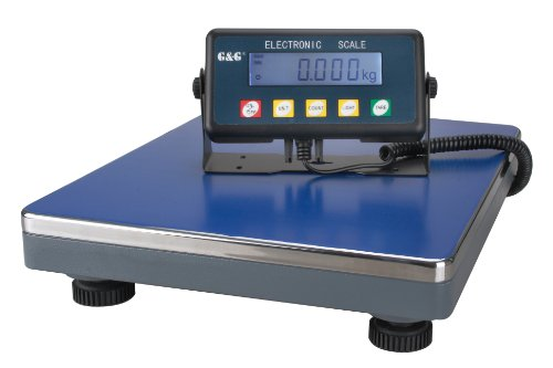 75kg/5g PSE75K Paketwaage PlattformWaage Digitalwaage Industriewaage/Batteriebetrieb möglich G&G