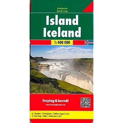 Islanda 1:400.000: Wegenkaart 1:400 000
