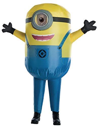 Generique - aufblasbares Minions Kostüm für Kinder ()