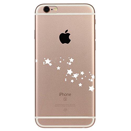 IPHONE 5C Hülle Flamingos Katze Giraffe Weich Silikon TPU Schutzhülle Ultradünnen Case für iPhone 5C Schutz Hülle Stern 1
