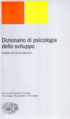 Dizionario di psicologia dello sviluppo
