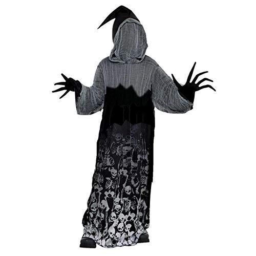 Dunkler Schatten-Sensenmann Halloween Kostüm Kinder Amscan