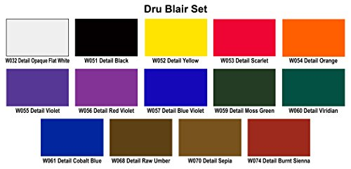 Top Airbrush Paint – Wicked Detail Set – Dru Blair – 17 x 60ml – #W112-00 Reviews