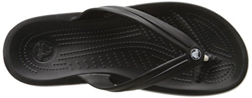 Crocs Crocband Flip, Tongs Mixte Adulte Noir (Black)