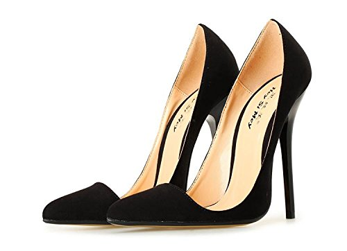 HeiSiMei Women's Heels / Komfort Leder / Stiletto Heel / Spitz Zeheschuhe / Nightclub / Party & Abend / Büro & Karriere / Pseudo-Mutter High Heels / Herren / Unisex 1-43