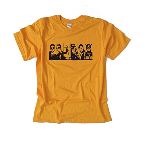 WATCHMEN - Graphic novel inspired design - Yellow T Shirt - 100% Cotton