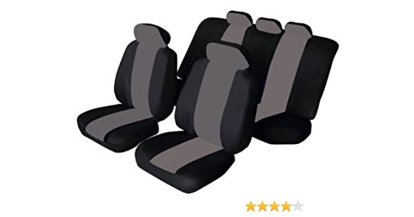 DACIA SANDERO STEPWAY Heavy Duty Black Waterproof Car Seat Covers 2 x Fronts