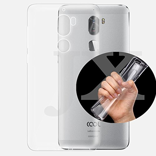 Aspir Back Cover For COOLPAD COOL 1 ( Clear Silicon Transparent ) i6